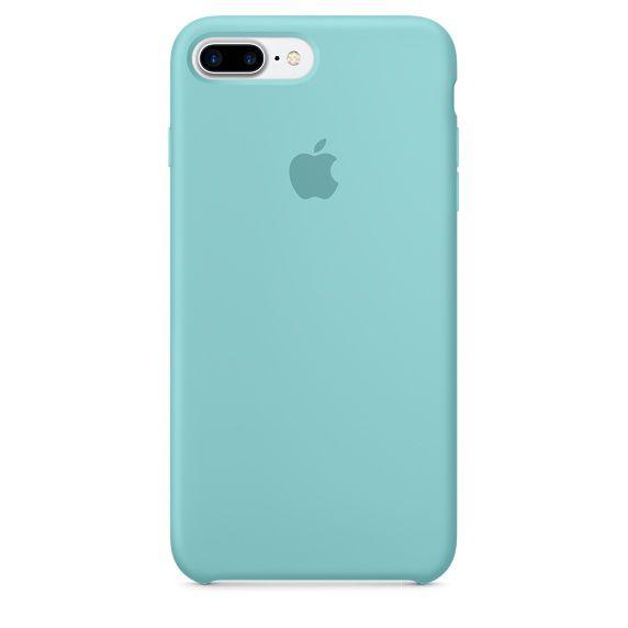 Чехол (клип-кейс) APPLE MMQY2ZM/A, для Apple iPhone 7 Plus, голубой