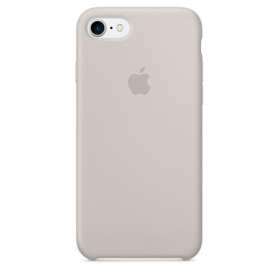 Чехол (клип-кейс) APPLE MMWR2ZM/A, для Apple iPhone 7, бежевый