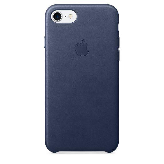 Чехол (клип-кейс) APPLE MMY32ZM/A, для Apple iPhone 7, темно-синий