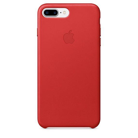 Чехол (клип-кейс) APPLE MMYK2ZM/A, для Apple iPhone 7 Plus, красный