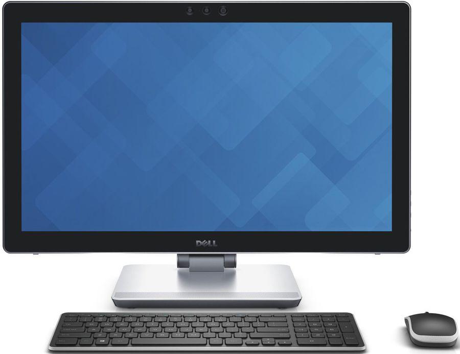 Моноблок DELL Inspiron 7459, Intel Core i7 6700HQ, 16Гб, 1000Гб, 32Гб SSD,  nVIDIA GeForce 940M - 4096 Мб, Windows 10 Home, черный и серебристый [7459-4773]
