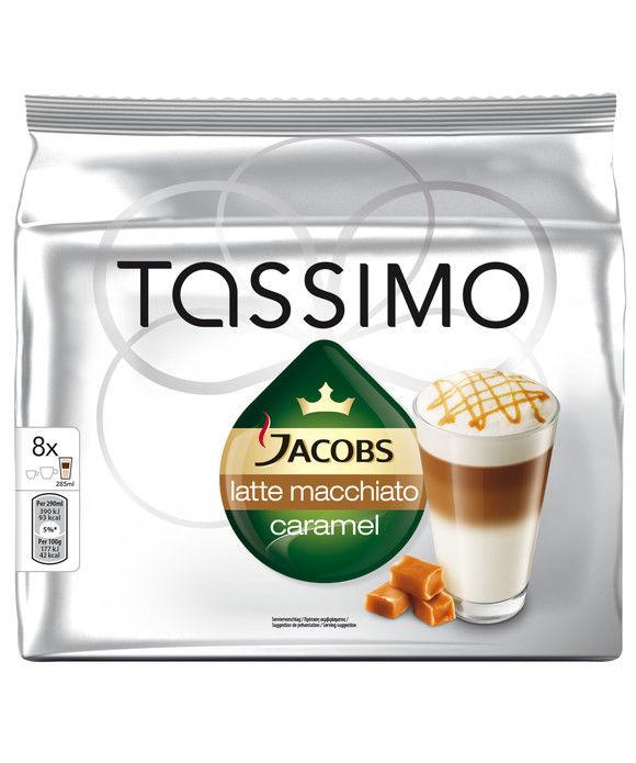 Капсулы BOSCH TASSIMO Латте Макиато,  для кофемашин капсульного типа,  8 шт [дубль использовать 382096]