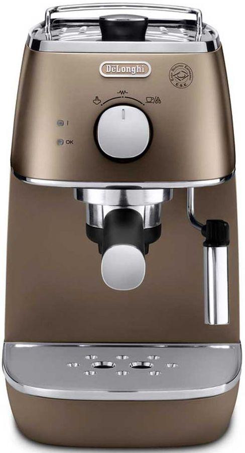 Кофеварка DELONGHI ECI341BZ,  эспрессо,  бронзовый  [0132104145]