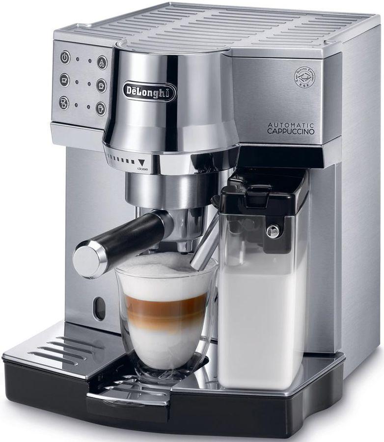 Кофеварка DELONGHI EC850M,  эспрессо,  серебристый  [0132109003]
