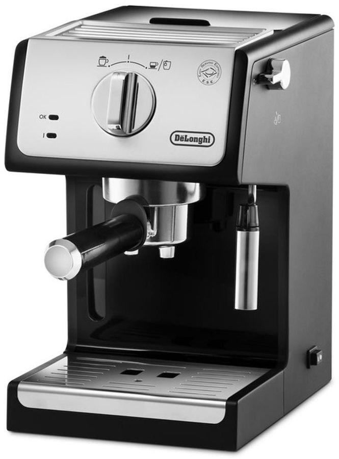 Кофеварка DELONGHI ECP 33.21,  эспрессо,  серебристый [132104158]