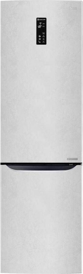 Холодильник LG GW-B489SQFZ,  двухкамерный,  белый