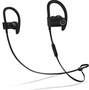Гарнитура BEATS Powerbeats 3 Wireless, вкладыши,  черный, беспроводные bluetooth