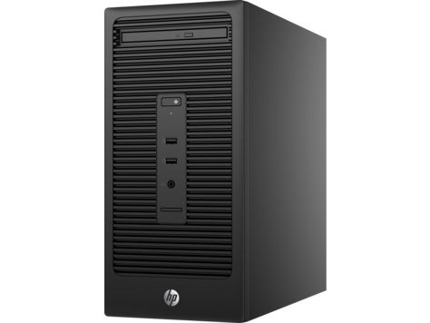 Компьютер  HP 280 G2,  Intel  Celeron  G3900,  DDR4 4Гб, 500Гб,  Intel HD Graphics 510,  DVD-RW,  Free DOS,  черный [v7r44ea]