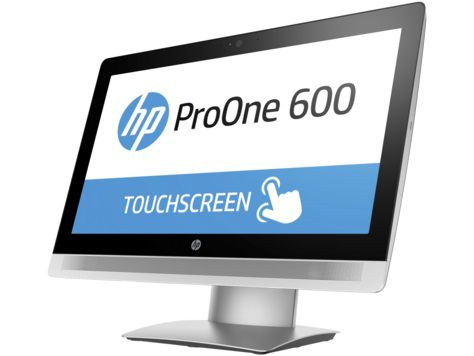 Моноблок HP ProOne 600 G2, Intel Core i5 6500, 4Гб, 500Гб, Intel HD Graphics 530, DVD-RW, Windows 10 Professional, черный [p1g75ea]
