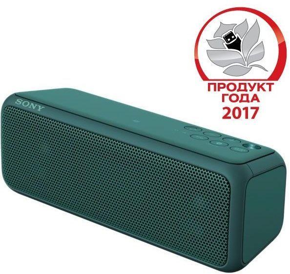 Портативные колонки SONY SRS-XB3,  зеленый [srsxb3g.ru4]