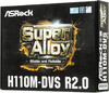 Материнская плата ASROCK H110M-DVS R2.0, LGA 1151, Intel H110, mATX, Ret вид 8