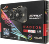 Видеокарта ASUS Radeon RX 460,  STRIX-RX460-O4G-GAMING,  4Гб, GDDR5, OC,  Ret вид 8
