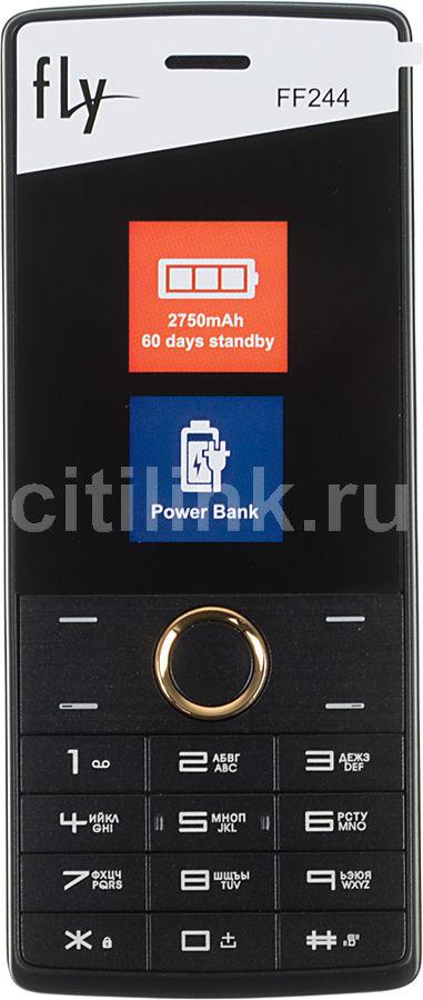 Мобильный телефон FLY FF244  золотистый