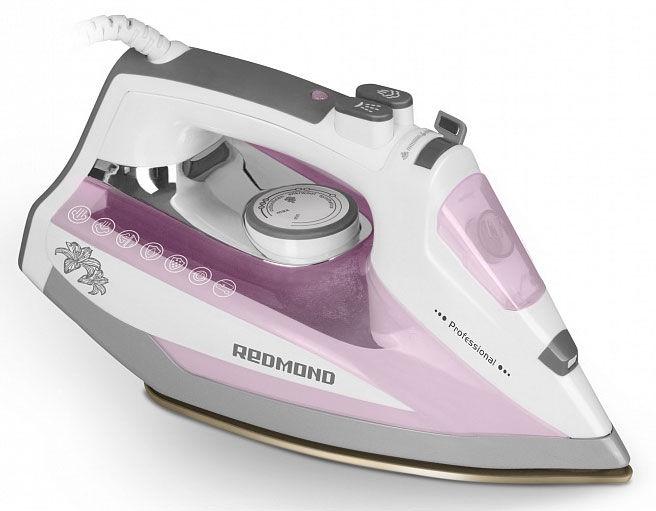 Утюг REDMOND RI-D235,  2200Вт,  белый/ розовый [ri-d235 (розовый)]