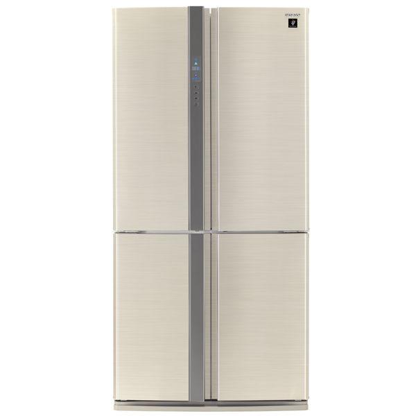 Холодильник SHARP SJ-FP97VBE,  двухкамерный, бежевый