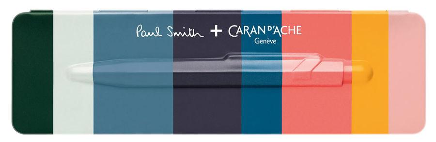 Ручка шариковая Carandache Office Paul Smith 2 (849.139) Damson синие чернила подар.кор.