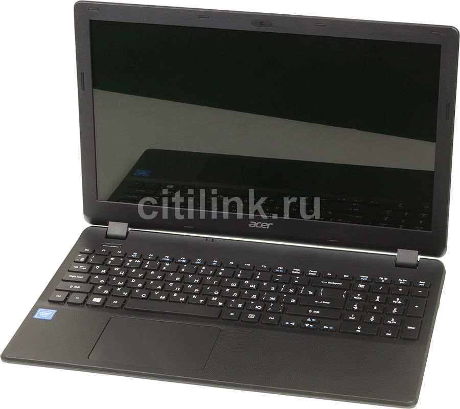 Ноутбук ACER Extensa EX2519-C8H5, 15.6, Intel Celeron N3060, 1.6ГГц, 4Гб, 500Гб, Intel HD Graphics , DVD-RW, Linux, черный [nx.efaer.036]