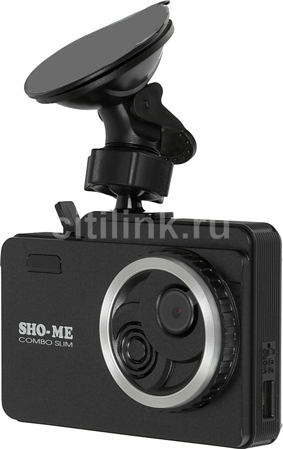 Радар-детектор SHO-ME Combo Slim [combo slim gps/glonass]