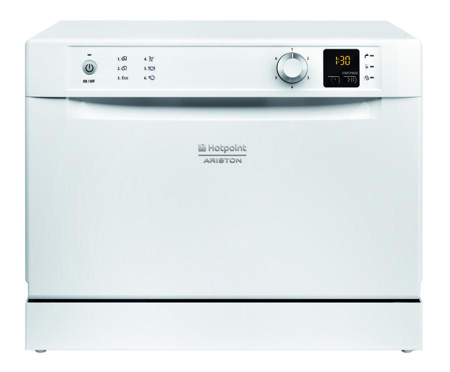 Посудомоечная машина HOTPOINT-ARISTON HCD 662 EU,  компактная, белая