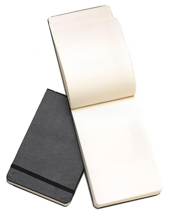 Блокнот Moleskine REPORTER Pocket 90x140мм 192стр. нелинованный твердая обложка черный [qp513]