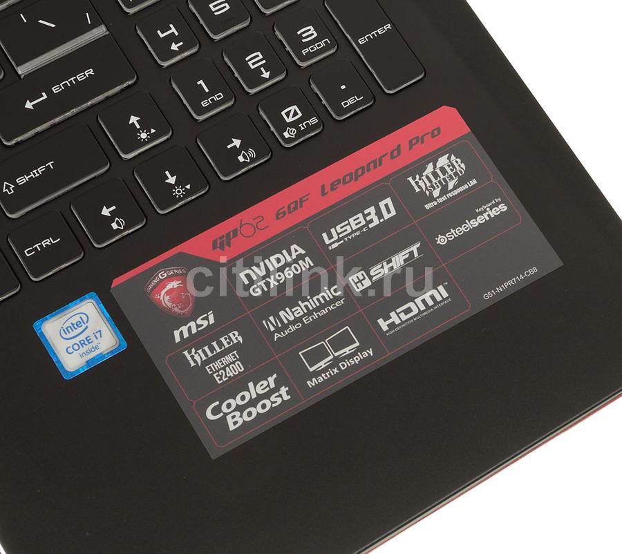 MSI GP62 6QE Leopard Pro EC Drivers for Windows Mac