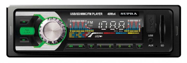 Автомагнитола SUPRA SFD-30U,  USB,  SD