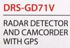 Радар-детектор SUPRA DRS-GD71V вид 12