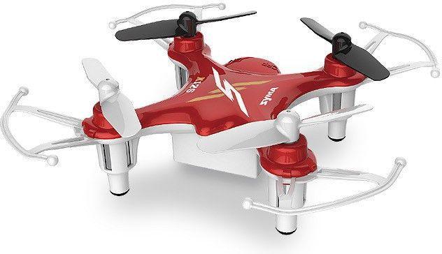 Квадрокоптер SYMA X12S, без камеры, красный [x12s red]