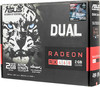 Видеокарта ASUS Radeon RX 460,  DUAL-RX460-2G,  2Гб, GDDR5, OC,  Ret вид 7