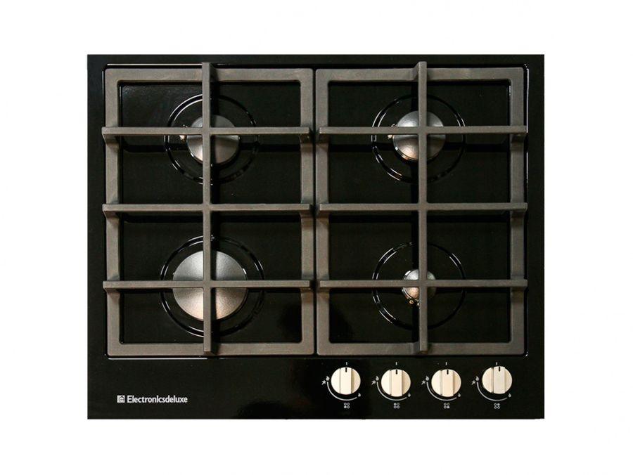 Варочная панель ELECTRONICSDELUXE TG4 750231F -040,  независимая,  черный глянец