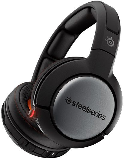 Наушники с микрофоном STEELSERIES Siberia 840,  мониторы, bluetooth,  черный  [61230]
