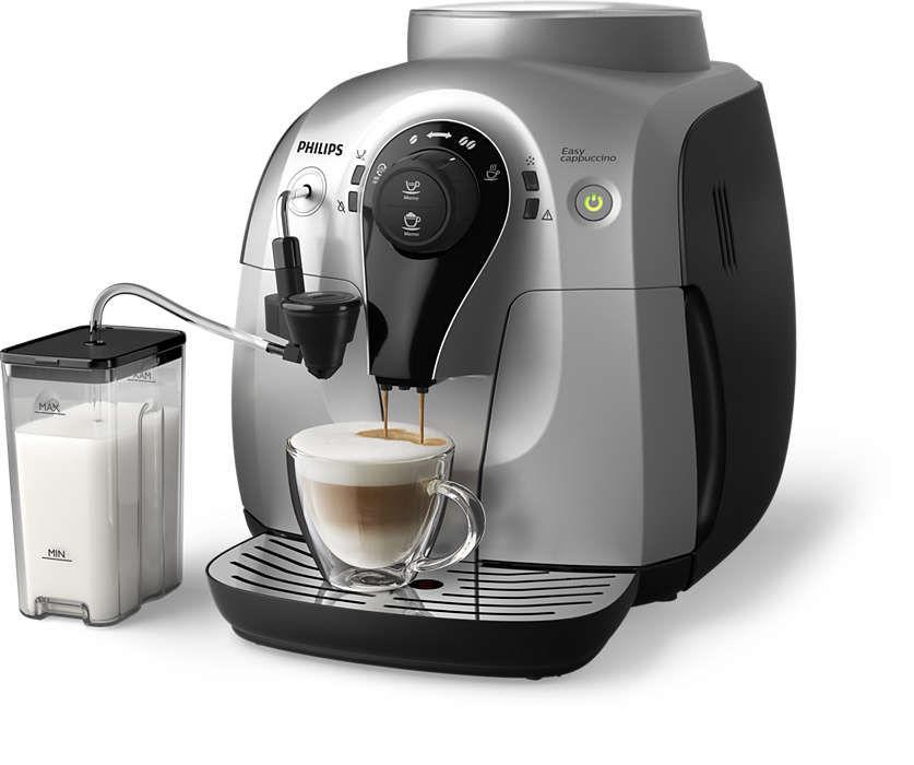 Кофемашина PHILIPS HD8654/59,  черный/серебристый