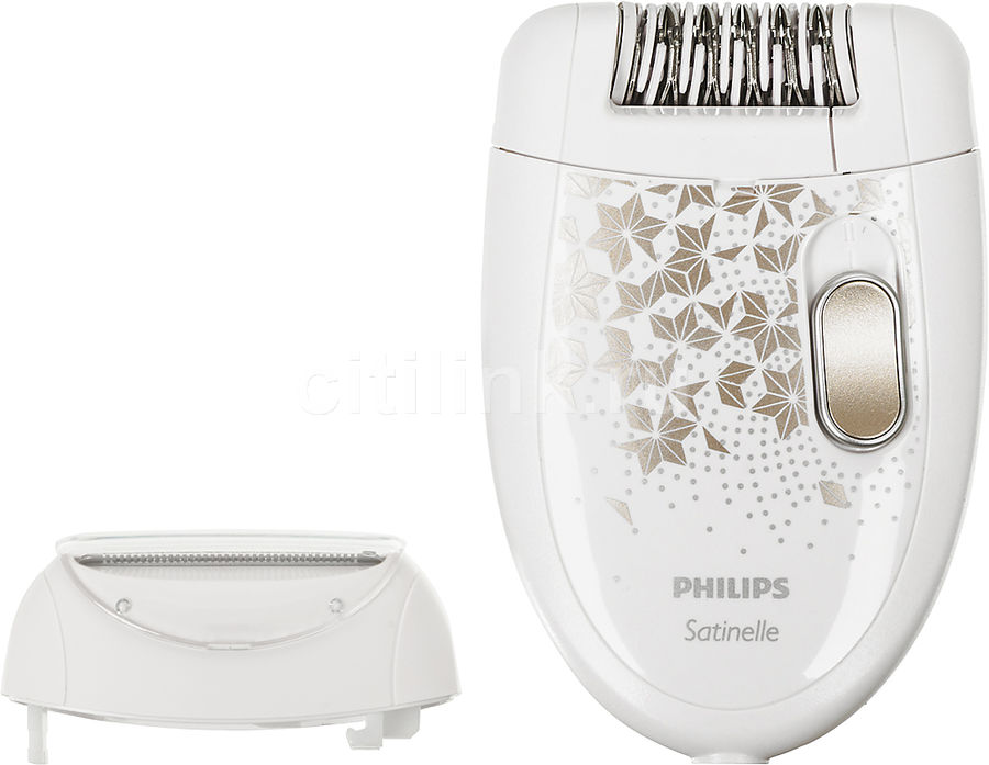 Эпилятор PHILIPS HP6428/00 белый