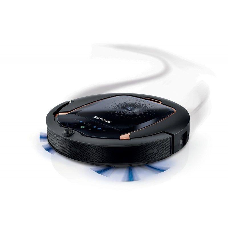 Робот-пылесос PHILIPS FC8820/01, 8Вт, черный