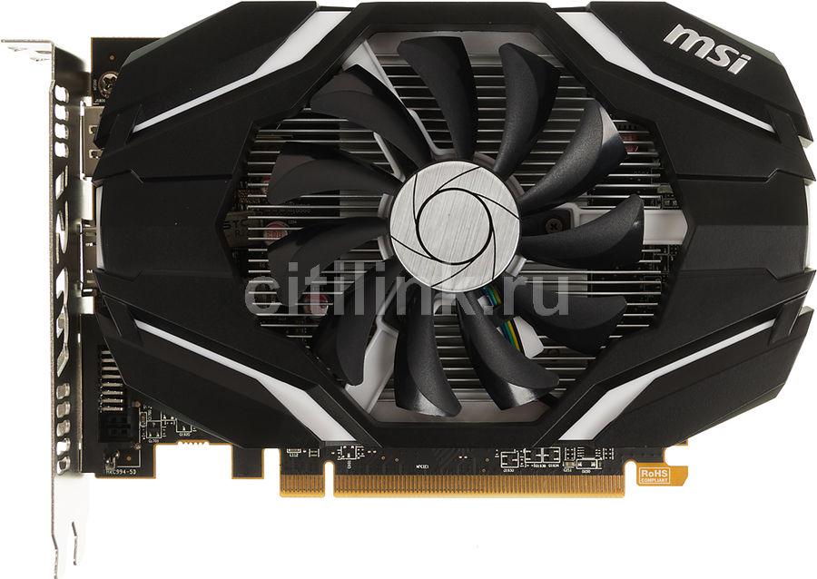 Видеокарта MSI Radeon RX 460,  RX 460 4G OC,  4Гб, GDDR5, OC,  Ret