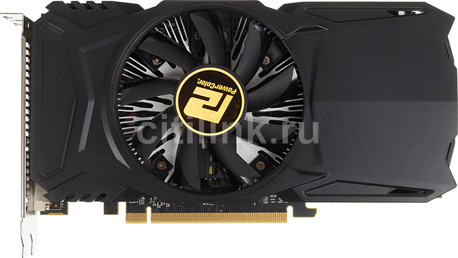 Видеокарта POWERCOLOR Red Dragon Radeon RX 460, AXRX 460 4GBD5-DH/OC, 4Гб, GDDR5, OC, Ret