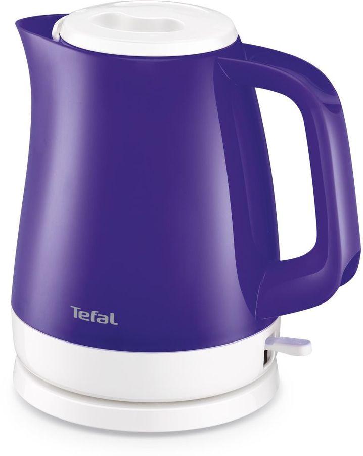 Чайник электрический TEFAL KO151630, фиолетовый