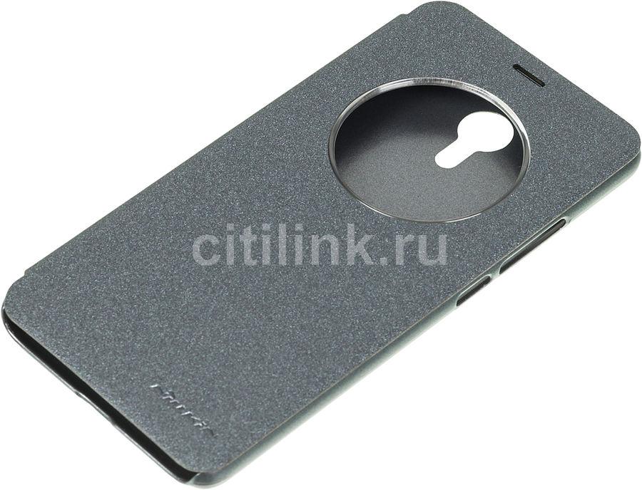 Чехол (клип-кейс)  FlipCover, для Meizu M3 Note, черный [nlk-874004y0404]