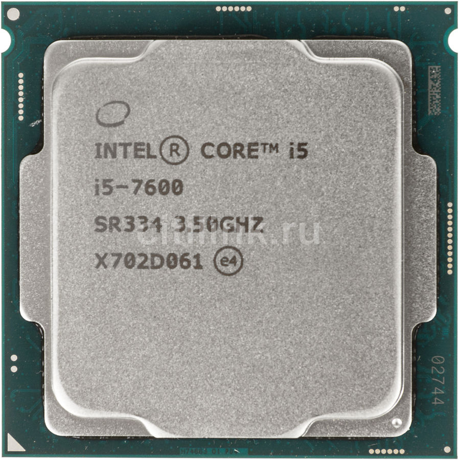 Процессор INTEL Core i5 7600, LGA 1151 ** OEM [cm8067702868011s r334] компьютер dell optiplex 5050 intel core i3 7100t ddr4 4гб 128гб ssd intel hd graphics 630 linux черный [5050 8208]