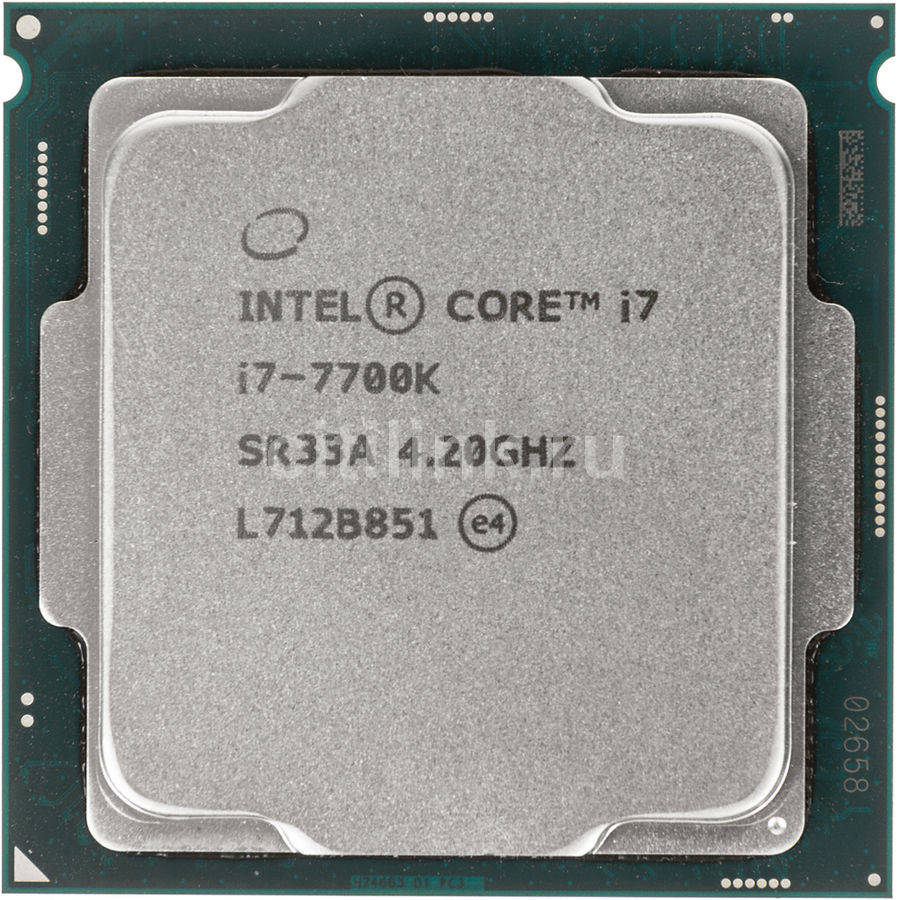 Процессор INTEL Core i7 7700K, LGA 1151 ** OEM [cm8067702868535s r33a] компьютер hp prodesk 400 g4 intel core i5 7500 ddr4 8гб 1000гб intel hd graphics 630 dvd rw windows 10 professional черный [1jj50ea]