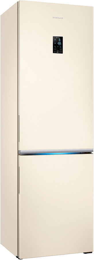 Холодильник SAMSUNG RB34K6220EF,  двухкамерный, бежевый [rb34k6220ef/wt]