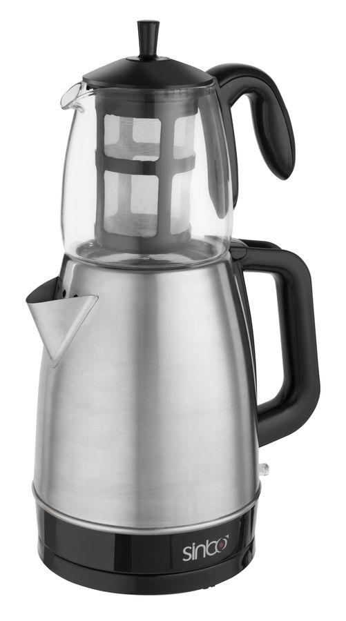 Чайный набор SINBO STM 5811, 2000Вт, серебристый
