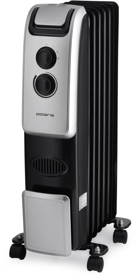 Масляный радиатор POLARIS PRE B 0920, 2000Вт, черный