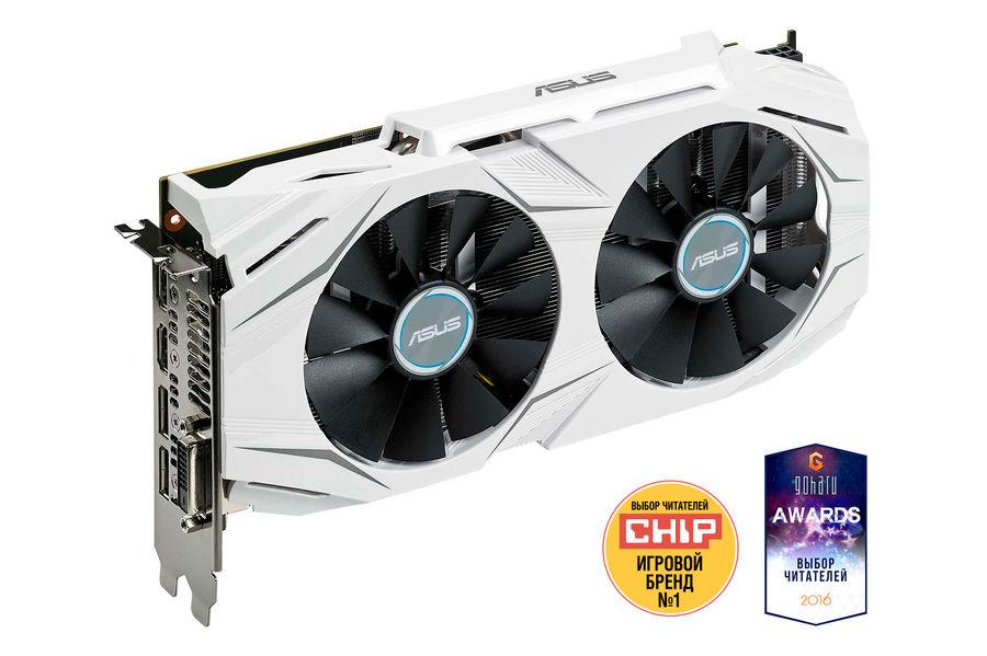 Видеокарта ASUS Radeon RX 480,  DUAL-RX480-4G,  4Гб, GDDR5, OC,  Ret