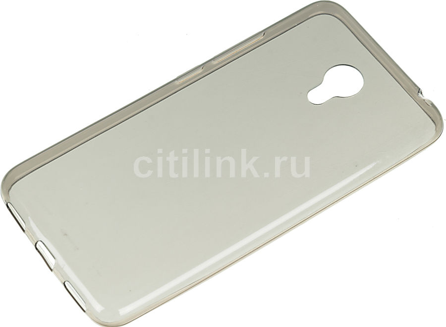 Чехол REDLINE iBox Crystal, для Meizu M3s mini, серый [ут000009774]