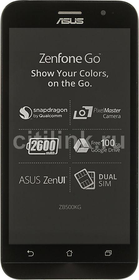 Смартфон ASUS Zenfone Go ZB500KG  черный