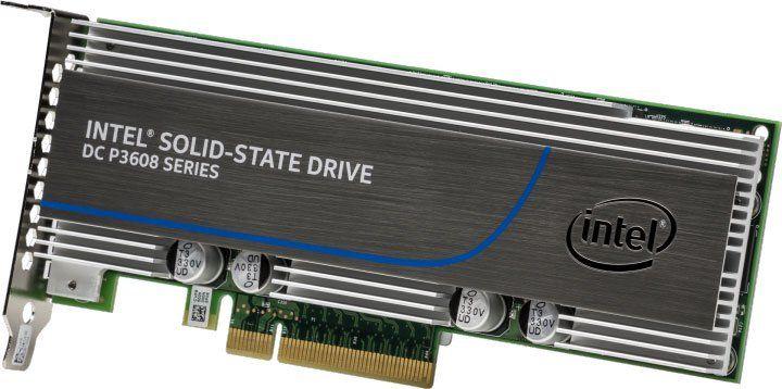 SSD накопитель INTEL DC P3608 SSDPECME016T401 1.6ТБ, PCI-E AIC (add-in-card), PCI-E x8,  NVMe [ssdpecme016t401 943186]