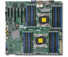 Серверная материнская плата SUPERMICRO MBD-X10DRI-LN4+-B,  bulk
