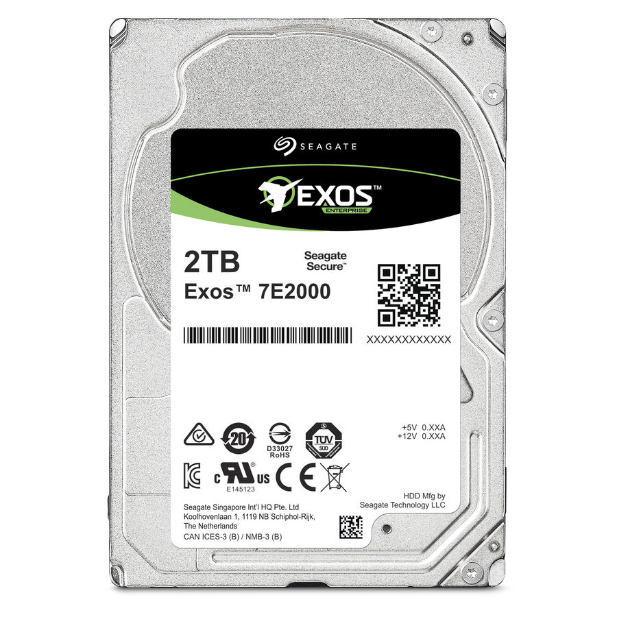 Жесткий диск SEAGATE Enterprise Capacity ST2000NX0273, 2Тб, HDD, SAS 3.0, 2.5 жесткий диск 5tb seagate enterprise capacity 3 5 hdd st5000nm0024