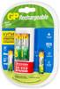 AA/AAA Аккумулятор + зарядное устройство GP Smart Energy U211100/40SEFR,  4 шт. вид 7